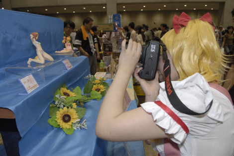 otaku vistor to Wonder festival