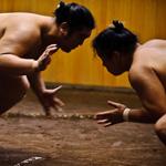 Doreen Simmons, Dewanoumi sumo stable, Tokyo, Japan, September 8, 2010.